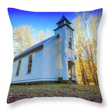 Palmer Chapel Methodist Church Throw Pillow
