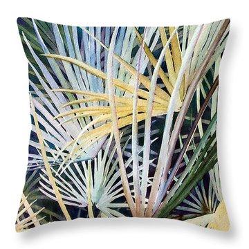 Palms   Original Throw Pillow
