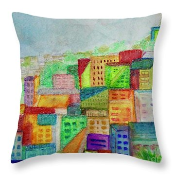 Palmitas Throw Pillow