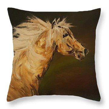 Palomino Running Wild                     85 Throw Pillow