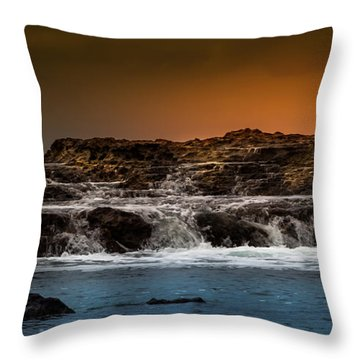Palos Verdes Coast Throw Pillow
