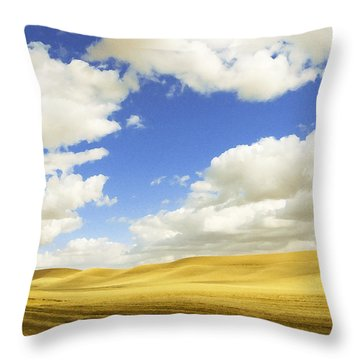 Palouse Valley Throw Pillow