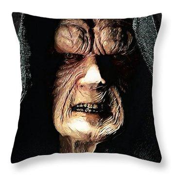Palpatine Darth Sidious Throw Pillow