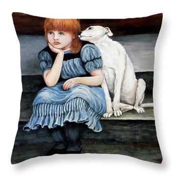 Pals Forever Throw Pillow