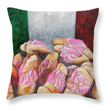 Pan De Cinco Throw Pillow