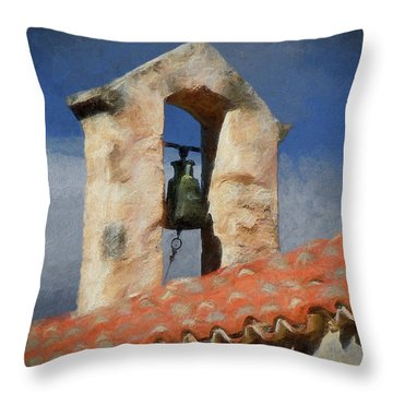 Panagia Kera Throw Pillow