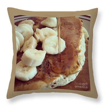 Throw Pillow featuring the photograph Pancakes  by Raymond Earley