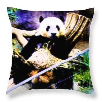 Panda Bear 1 Throw Pillow