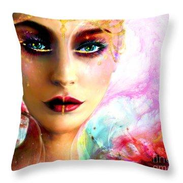 Pandora, The All Giving Throw Pillow