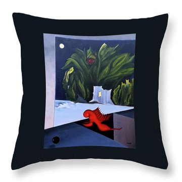 Pandora's Box  Throw Pillow by Robert Henne