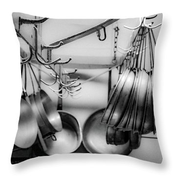Throw Pillow featuring the photograph Panhandler by Kendall McKernon