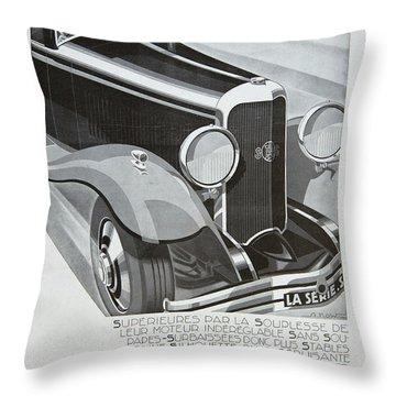 Panhard #8701 Throw Pillow