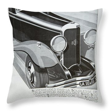 Panhard #8701 Throw Pillow
