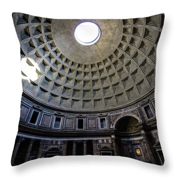 Pantheon Throw Pillow by Nicklas Gustafsson