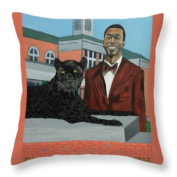 Panther Pride Throw Pillow