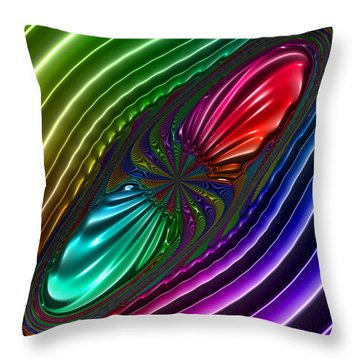 Panthrough Throw Pillow