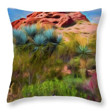Papago Dreams Throw Pillow