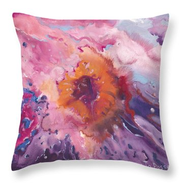 Papa's Passion Throw Pillow