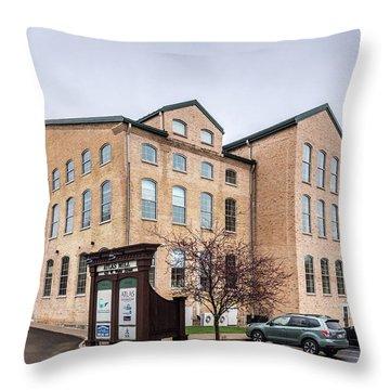 Paper Discovery Center Throw Pillow by Randy Scherkenbach
