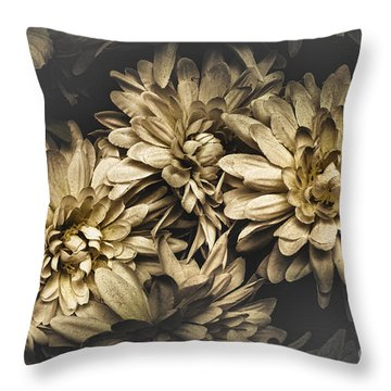 Throw Pillow featuring the photograph Paper Flowers by Jorgo Photography - Wall Art Gallery