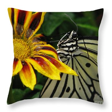 Paper Kite Smiles Throw Pillow