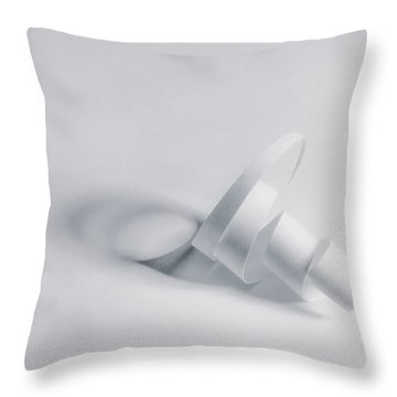 Paper Spiral Throw Pillow