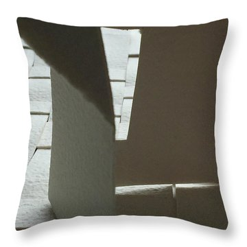 Paper Structure-1 Throw Pillow