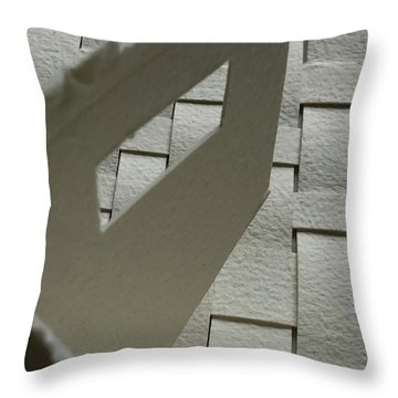 Paper Structure-2 Throw Pillow