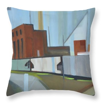 Paperboard Factory Bogota Nj Throw Pillow