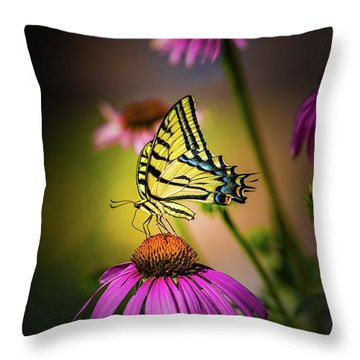 Papilio Throw Pillow