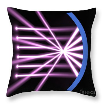 Parabolic Reflector 2 Throw Pillow