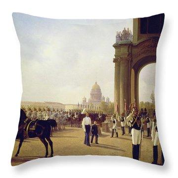 Palace Square Throw Pillows