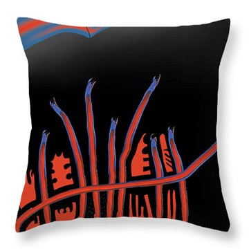 Parade Route Throw Pillow