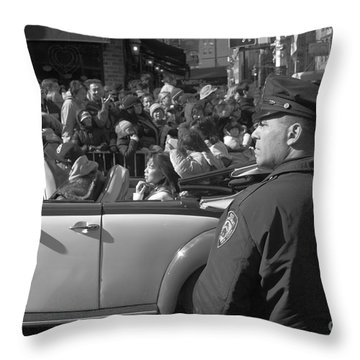 Parade Security Throw Pillow by Clarence Holmes