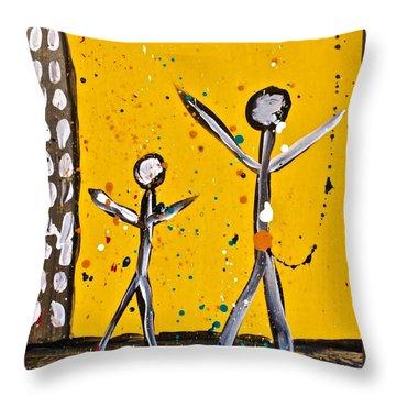 Parades 1 Throw Pillow