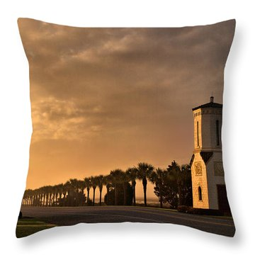 Paradise Beacons Throw Pillow