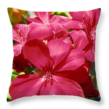 Paradise Bloom Throw Pillow