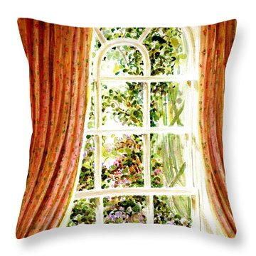 Paradise House In Bath England Throw Pillow