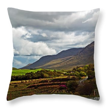 Paradise In Ireland Throw Pillow by Patricia Griffin Brett