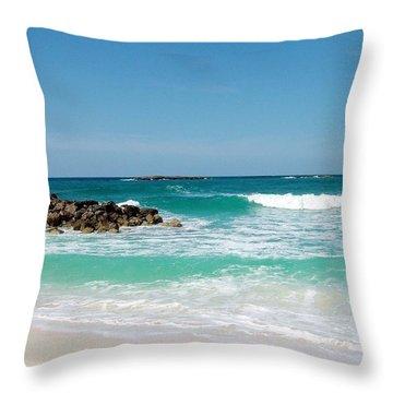 Paradise Island Throw Pillow