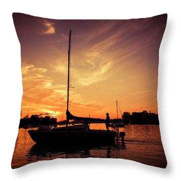 Throw Pillow featuring the photograph Paradise by Joel Witmeyer