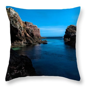 Paradise Lost At Sea Throw Pillow by Edgar Laureano