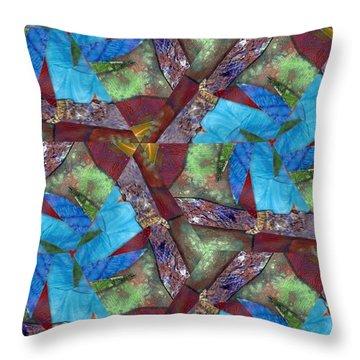 Paradise Throw Pillow by Maria Watt