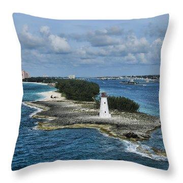 Paradise Point Throw Pillow