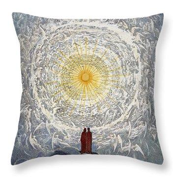 Paradiso: Dor� Throw Pillow by Granger