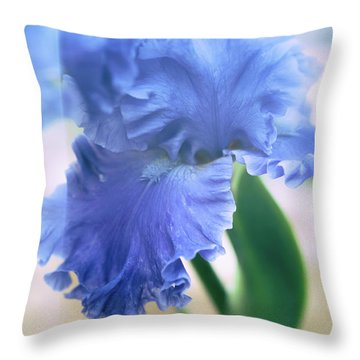 Parallel Botany #5254 Throw Pillow by Andrey Godyaykin