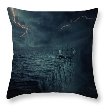 Parallelism Throw Pillow by Psycho Shadow