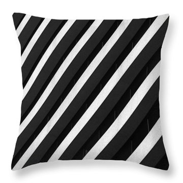 Parallels Throw Pillow by Kelvin Booker