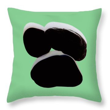 Paranormale Stones - Shadows Throw Pillow
