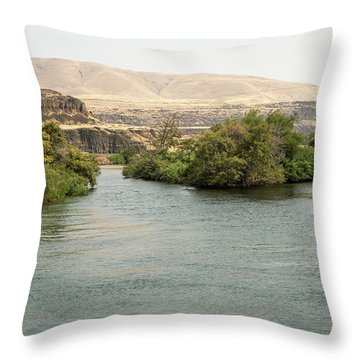 Parapet  1 Throw Pillow